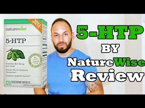 5-HTP Naturewise | Increase Serotonin Levels l  Supplement Review