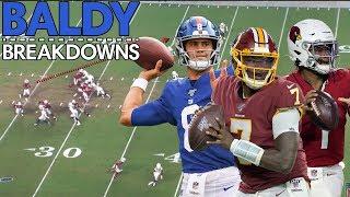Analyzing Kyler Murray, Dwayne Haskins, and Daniel Jones Debut Games! | Baldy Breakdowns