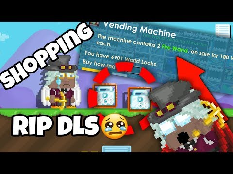 Shopping with Me (Rip Dls) | Growtopia