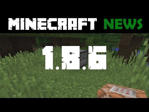 What's new in Minecraft 1.8.6?