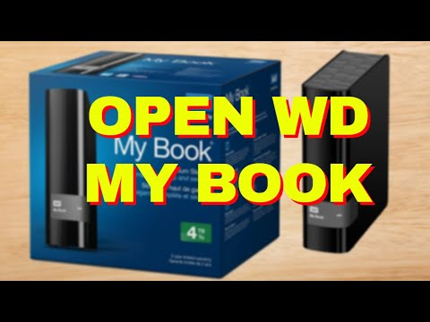 How to Open Western Digital WD MyBook Live