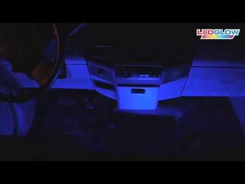 LEDGlow | 4pc Expandable Million Color SMD Interior Light Kit