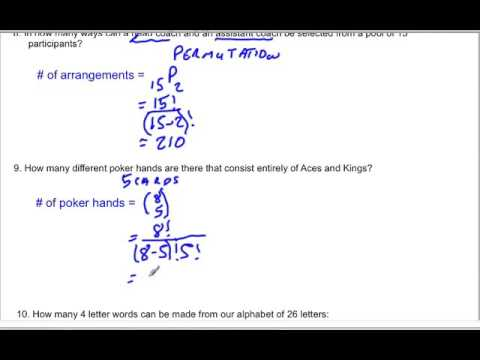 Permutations and Combinations 3