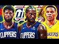 Why The Kawhi Leonard Signing And Paul George Trade To The Clippers Could Mean Westbrook To Lakers