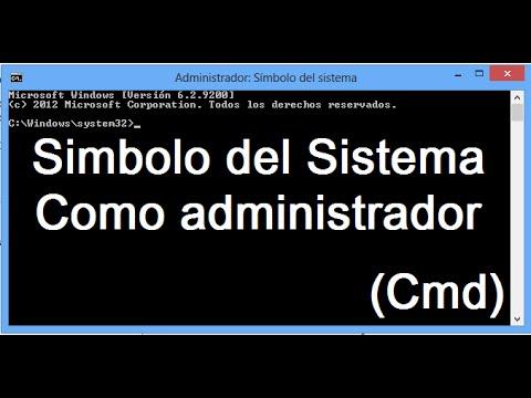 3 Maneras de ejecutar símbolo del sistema como Administrador (Windows 10 y 8.1)