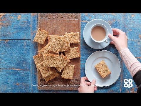 Co-op Food | Pear & Ginger Flapjacks