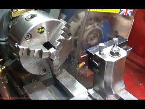 Myford Rear Tool-Post Test New 26mm Part-off Blade & GTN3 Insert