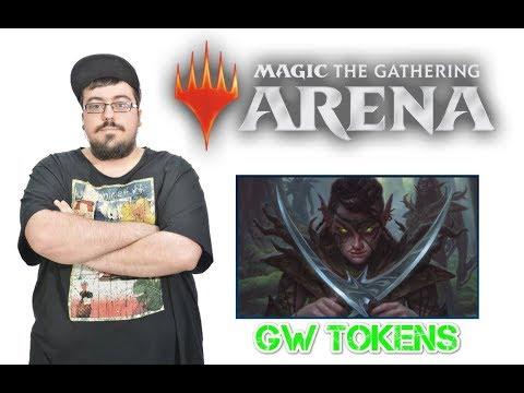 Baraja económica en MTG Arena: G/W Tokens