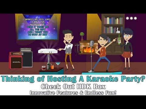 HDK Box 2.0 Smartest Streaming Karaoke Machine by HDKaraoke