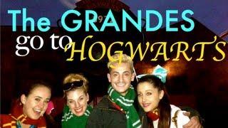 Birthday Pt. 1 - The GRANDES go to HOGWARTS!!