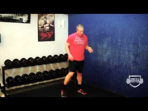 Leg Conditioning Workout:  Squat to Iso Squat Ladder Exercise