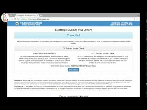 Let's check dv lottery result 2018  EDV Result 2018   2074 Winners With All Name List