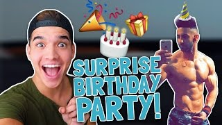 HE HAD NO IDEA!! (SURPRISE PARTY)