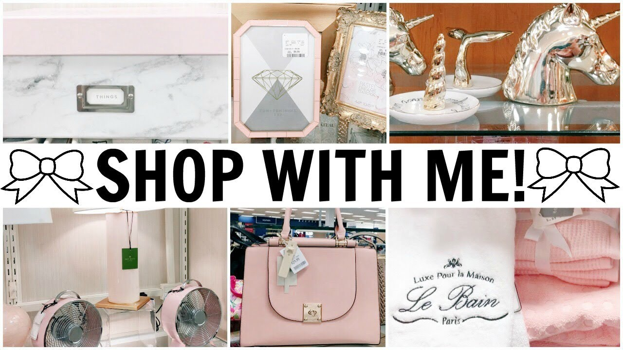 SHOP WITH ME! ♡ TJ Maxx, Marshalls & 2 HomeGoods Stores ♡ Summer & Fall 2017