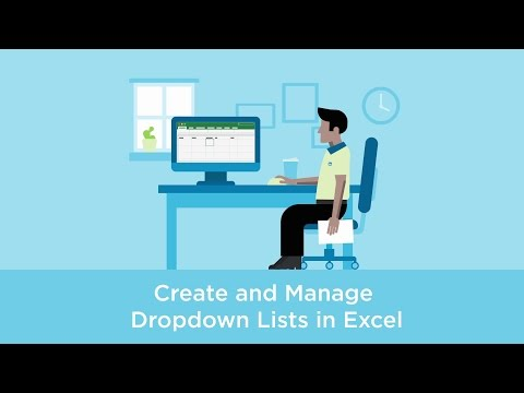 Create and manage dropdown lists in Excel