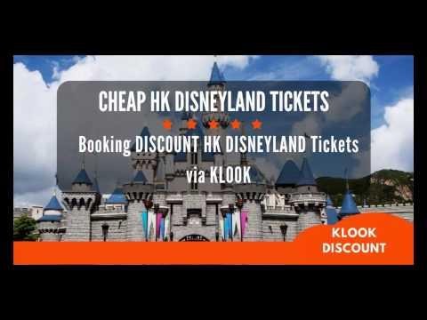 Klook Hong Kong Disneyland [DISCOUNT TICKETS]: Booking Cheap HK Disneyland Tickets via KLOOK