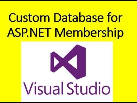 How to use Custom Database for ASP.NET Membership