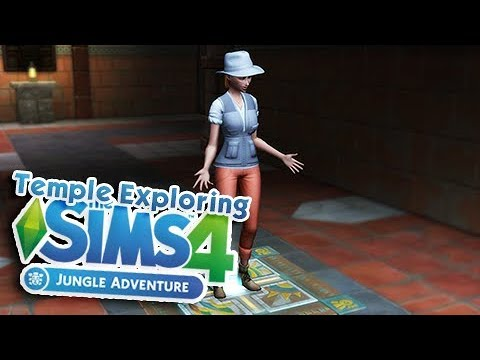 JUNGLE ADVENTURE MINI SERIES 🍃 | THE SIMS 4 | Part 5 - Temple Exploring!