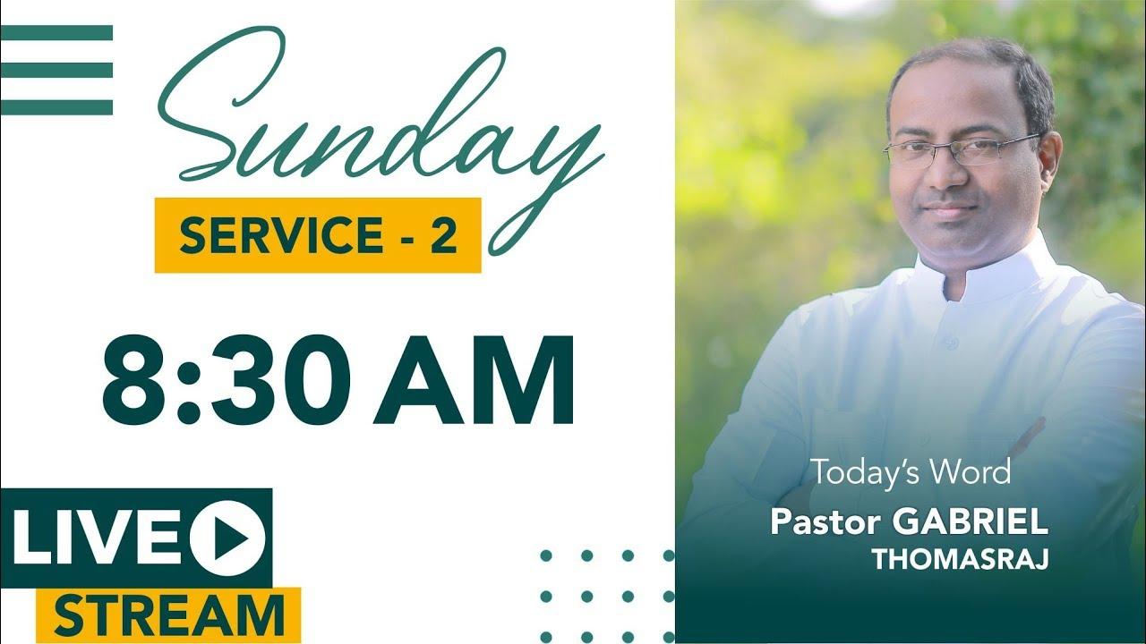 LIVE | Sunday Service - 2 | 22 March 2020