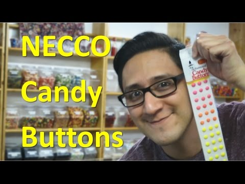 NECCO Candy Buttons // TheCandyGuy
