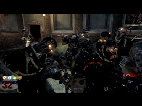 COD Black Ops Zombies: Kino der Toten rounds 1-40 solo gameplay (no commentary)