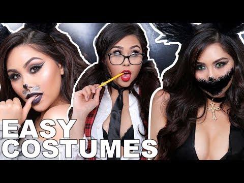 CHEAP LAST MINUTE HALLOWEEN COSTUMES | Roxette Arisa