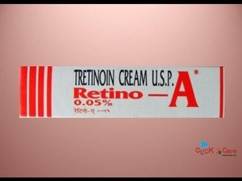 Retino A Cream For Treating Acne Vulgaris On ClickOnCare