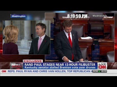 Rand Paul explains near 13-hour filibuster