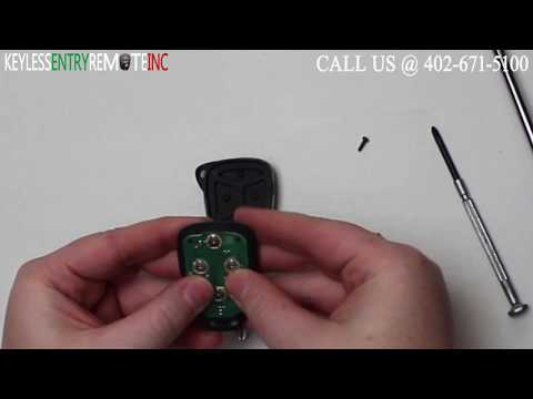 How To Replace Dodge Charger Key Fob Battery 2006 2007