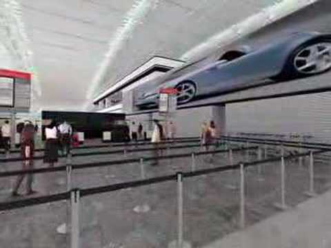 London Heathrow Terminal 5  virtual tour
