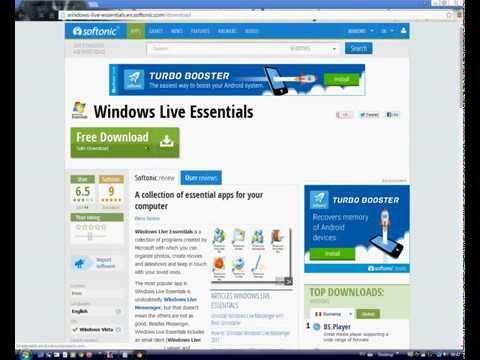 Install Windows Live Essentials (2011)