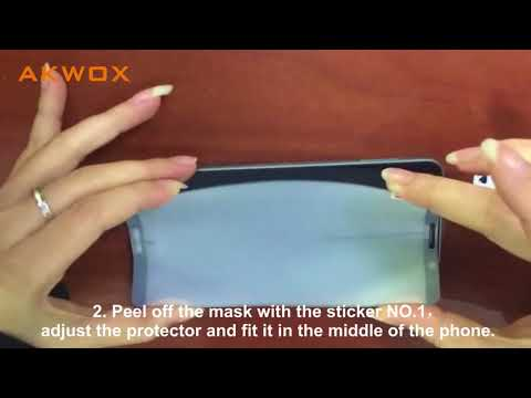 AKWOX Soft Screen Protector for Huawei Mate 10 Pro