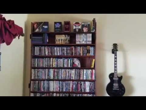 DIY DVD Shelving Unit For Our Family Room