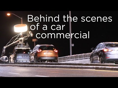 Behind the Scenes of a Car Commercial | Driving.ca