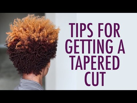 WATCH THIS before CUTTING YOUR Natural Hair | Tapered Cut