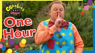 Mr Tumble's Super Playlist   Funtime with Friends   CBeebies   ONE HOUR Compilation for kids