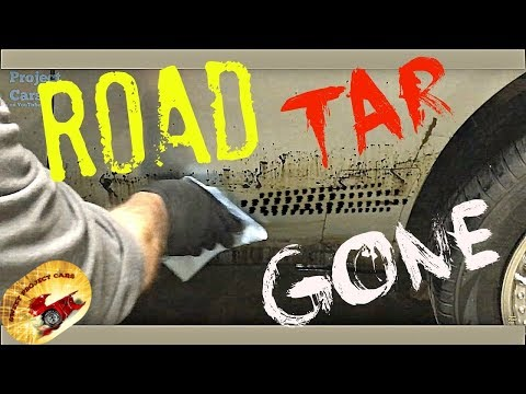 HOW To Remove Road Tar & Bugs FAST & Clear Coat SAFE!