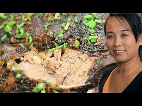 Xinjiang Cumin Leg Lamb Recipe (Chinese Style Cooking Recipe)