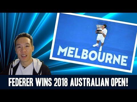 Nukem384 News: Federer Wins 2018 Australian Open!