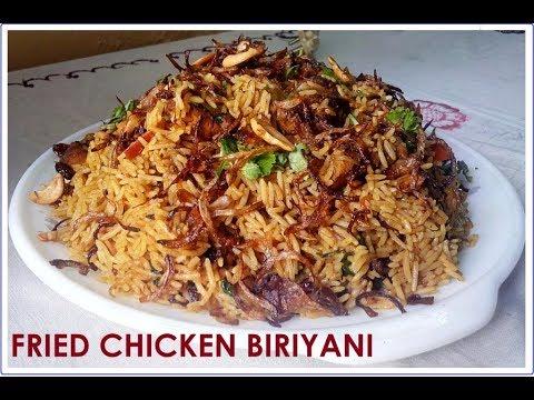 fried chicken biriyani (Malayalam)