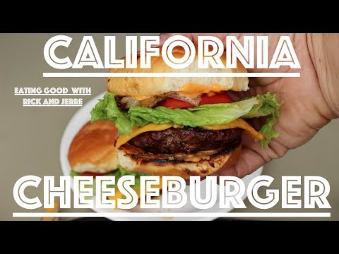 How to make a California Grilled Cheeseburger! In-n-out style