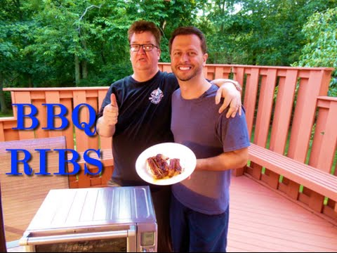 BBQ RIBS IN A TOASTER OVEN: Big Meals, Small Places with Sal Governale