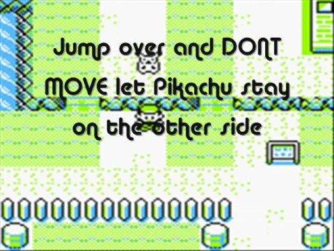 How to make Pikachu dance! (Pokémon Yellow)