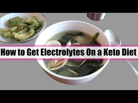 How To Get Electrolytes on a Ketogenic Diet And My Full Day of Eating