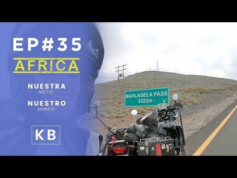 Carreteras de montaña en Lesotho - Ep#35 - Vuelta al Mundo en Moto