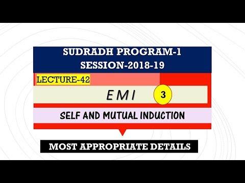 L42, EMI-3 , [Sudradh-1] 2018-19, xii Physics fundamentals