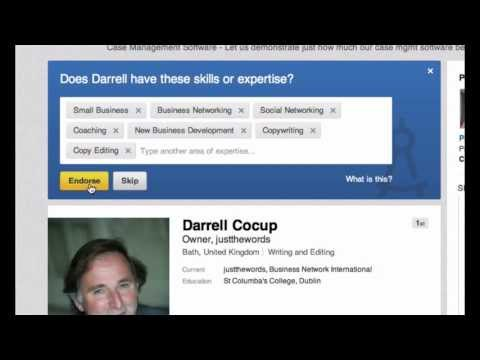 How to get more from Linkedin Endorsements