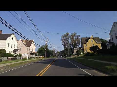 Driving by Danbury,Connecticut