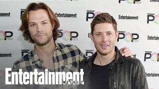 Supernatural S Jensen Ackles Jared Padalecki Get Sentimental Popfest