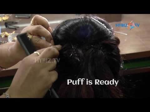 Fabulous muslim bridal hairstyle   Lakme Salon   Step by step   hybiz